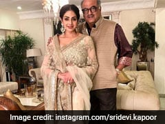 On Sridevi And Boney Kapoor's 25th Wedding Anniversary, We Look Back At Their Iconic Couple Fashion Moments