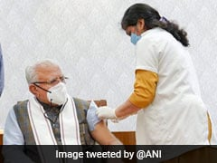 Haryana Chief Minister Manohar Lal Khattar Receives Second Dose Of Covid Vaccine