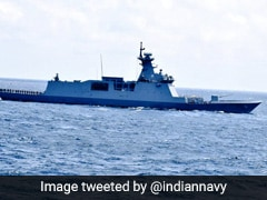Navy Warship Conducts Military Drill With South Korean Ship In East China Sea