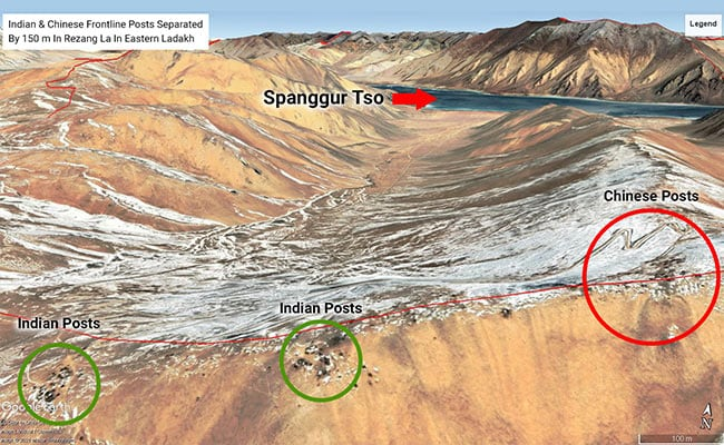 India-China Posts Just 150 Metres Apart In Feb, Show New Satellite Pics