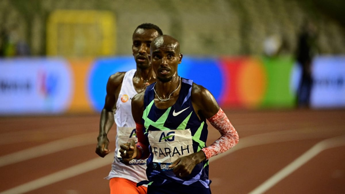 Mo Farah fails to make Olympic 10k qualifying time