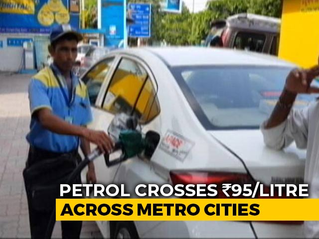 Video : Petrol, Diesel Prices Hiked To Record Highs Across Metro Cities