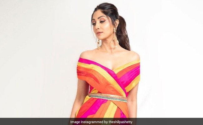 Shilpa Shetty Picked This OOTD Because She's 'Not Just One Colour'