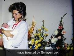On Elon Musk's 50th Birthday, A Major Throwback From Mom Maye Musk