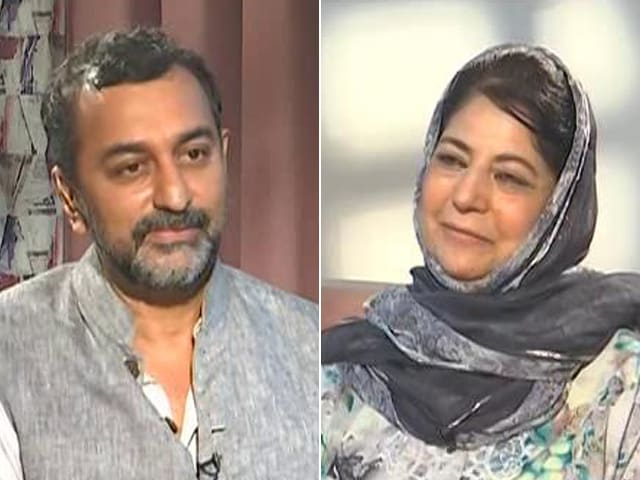Video : Confidence Needs To Be Restored, Elections Can Come Later: Mehbooba Mufti