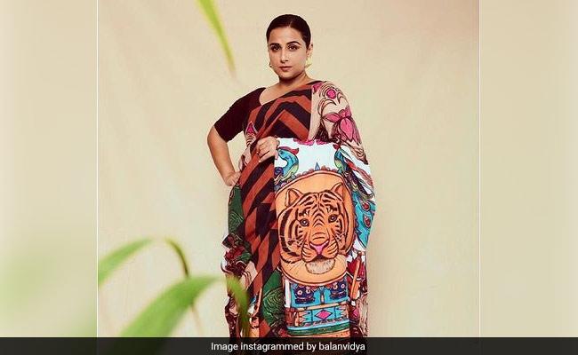 Saree, Not Sorry: Vidya Balan Is A Sherni, 'All Day, Every Day'