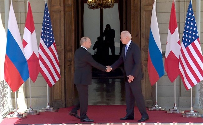 Biden Pushes Putin For Stable 'Great Powers' Relationship At First Summit