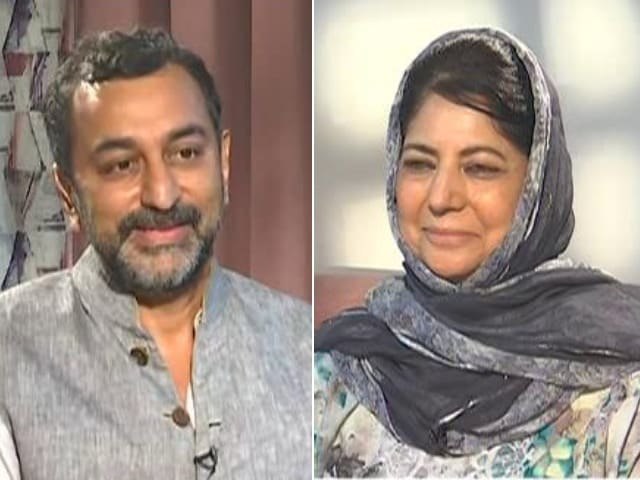 """Video : """"Not Surprised About PM's Meeting, Situation On Ground Not Good"""": Mehbooba Mufti"""