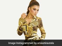 Urvashi Rautela Is So Stylish, She Can Make Even A Scarf Dress Look Va-Va-Voom