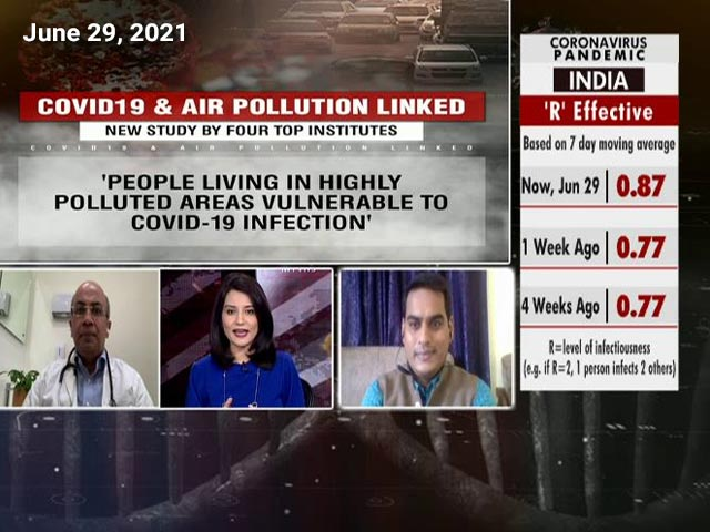 Video : Study: Covid-19 & Air Pollution Linked