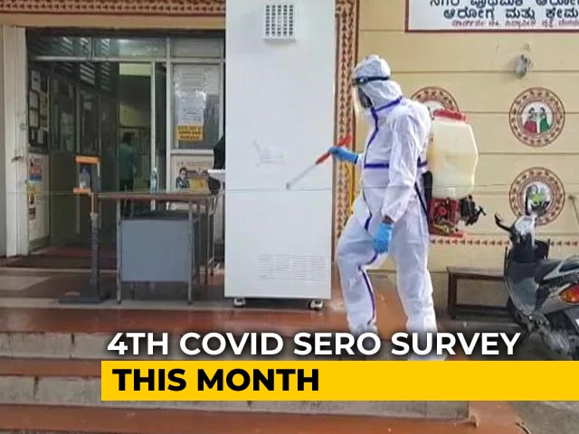 Video : 4th Covid Sero Survey This Month, Focus On Children And Rural Areas