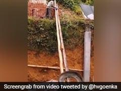 Harsh Goenka's Post On Unique Way Of Using Old Tyre Has Twitter's Nod