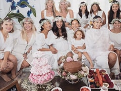 Inside Lisa Haydon's Picture Perfect Baby Shower
