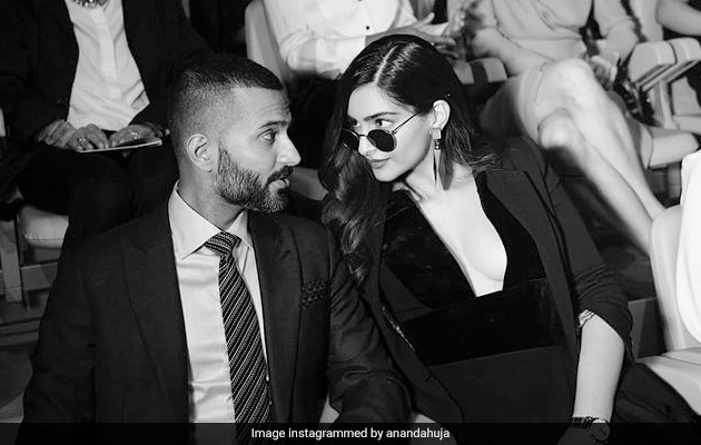 On Sonam Kapoor's Birthday, Anand Ahuja Shares Pic Of His Wallpaper