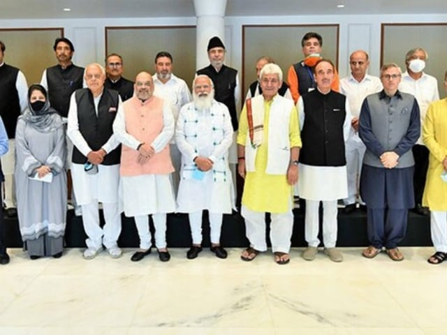 Video : PM's Meeting With J&K Leaders Ends After 3 Hours