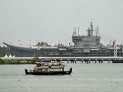 1st 'Made-In-India' Aircraft Carrier To Be Commissioned Next Year: Rajnath Singh