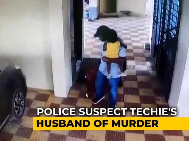 Video : On CCTV, Suitcase Wheeled With Hyderabad Techie's Body Reportedly Within