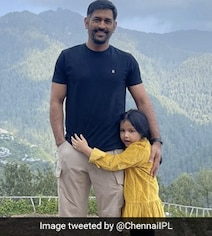 MS Dhoni's New Look In Pic With Daughter Ziva Sends Fans Into A Tizzy