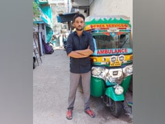 """""""Sold Wife's Jewellery"""": He Converted His Auto-Rickshaw Into Ambulance"""