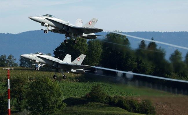 Swiss Government Eyes Order Of US Fighter Jets, Air Defence Units
