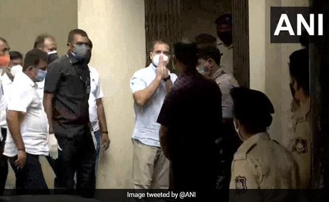Rahul Gandhi At Gujarat Court To Record Statement In Defamation Case - NDTV