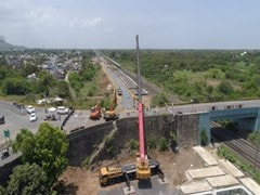 Valsad Road-Over-Bridge Section Constructed On Dedicated Freight Corridor