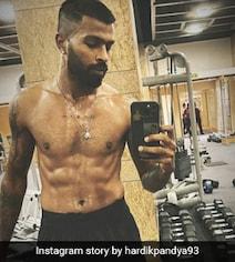 Hardik Pandya Has 'Work Mode On' In This Post-Workout Pic