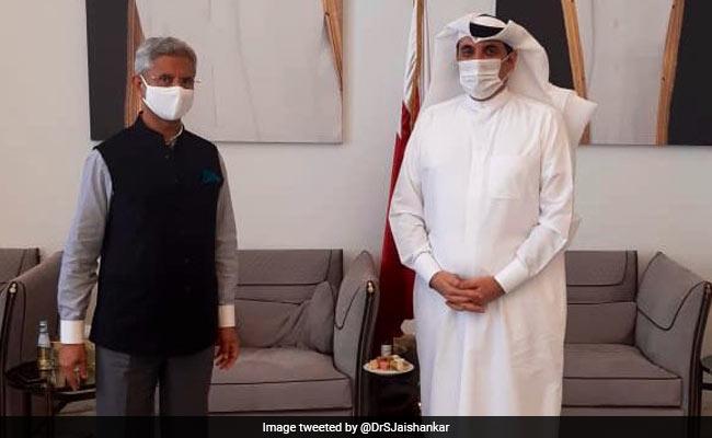 S Jaishankar Meets Qatari National Security Advisor, Thanks For Support In India's Covid Fight