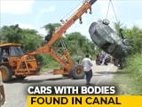 Video : Desilted Ganga Canal In Western UP Throws Up 2 Cars With 2 Bodies