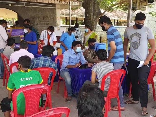 Video : Chennai Civic Body Launches Vaccination Drive At Market, Last Year's Covid Hotspot
