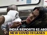 Video : 62,480 New Covid Cases In India, Active Cases Under 8 lakh After 73 Days