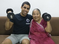 83-Year-Old Woman In Chennai Is Workout, Fitness Icon On Social Media