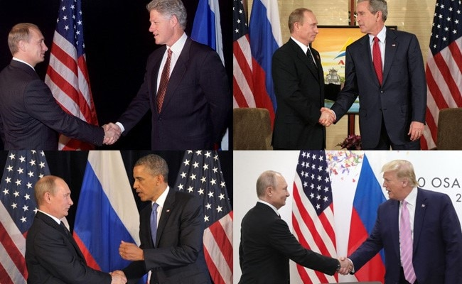 'One Cold Dude': US Presidents On Putin