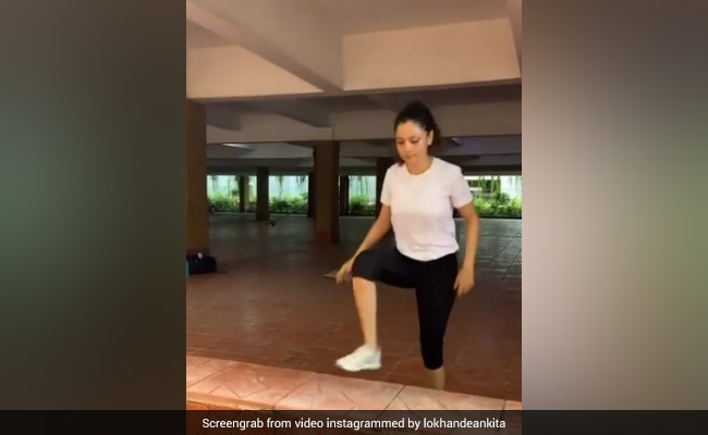 Ankita Lokhande, In Work Out And Repeat Mode, Isn't Stopping Anytime Soon