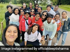 """""""Plenty Of Fun And Some Cool Dance Moves"""": India Women Cricketers Enjoy Day Out In Bristol"""