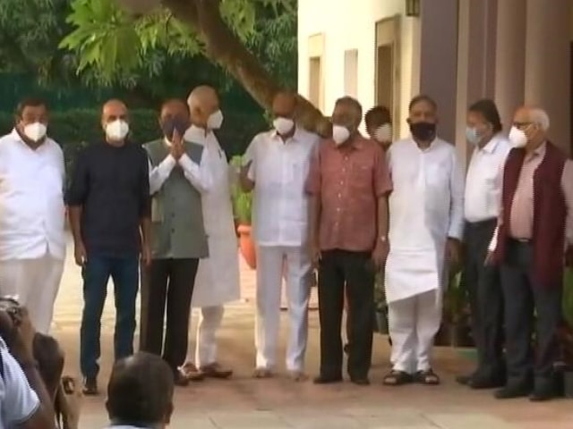 """Video : """"Wasn't Political,"""" Says NCP After 8 Parties Meet At Sharad Pawar's House"""