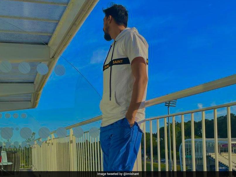 "WTC Final: Ishant Sharma Shows ""Room with Vision"" at Ageas Bowl.  See Photos  Cricket News"