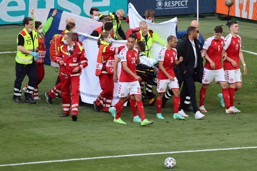 Euro 2020: We got Christian back, Denmark team doctor recounts harrowing moments after Eriksen collapsed