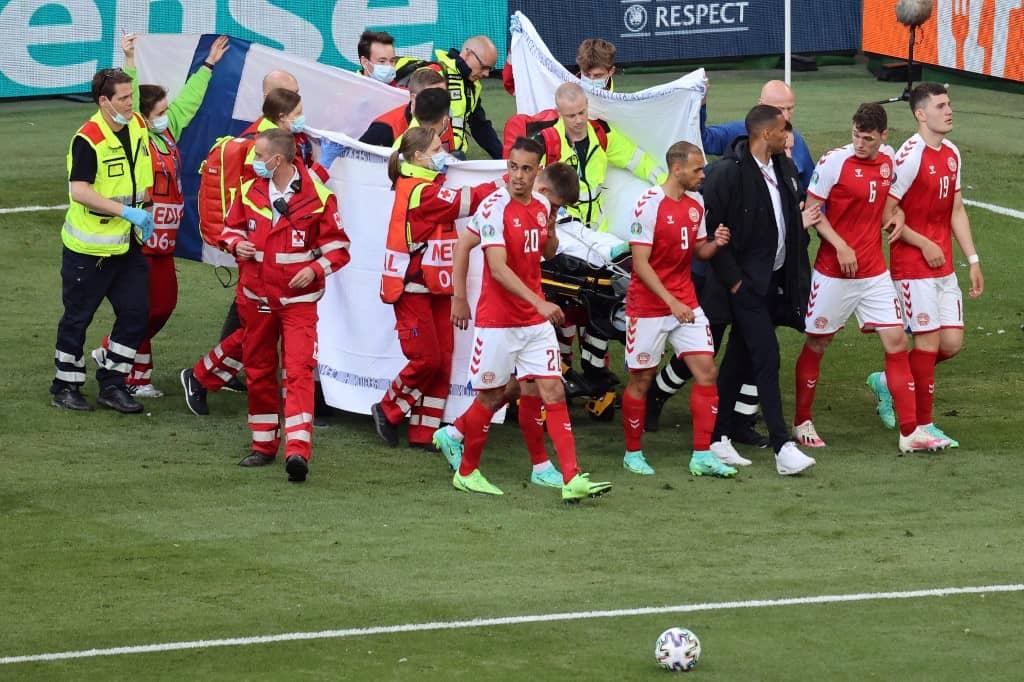 """EURO Cup 2021: टीम के डॉक्टर ने बताया भयानक घटने का आँखों देखा हाल, एरिक्सन की नब्ज जा रही थी..."""""""