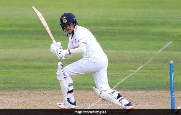 Shafali Verma Youngest Woman To Hit Two Fifties In Debut Test