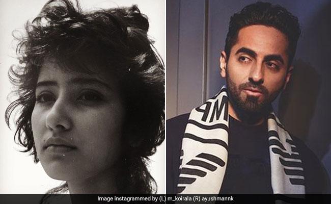 Manisha Koirala's first photoshoot robbed fans' hearts, Ayushmann Khurrana praised 'Saudagar Girl' like this