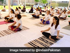 Indian High Commission In Pakistan Celebrates International Yoga Day
