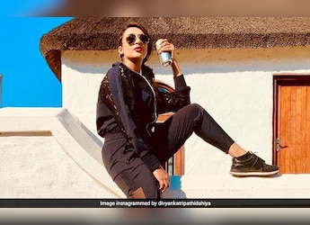 """""""My Favourite Activity,"""" Says Divyanka Tripathi; Take A Look At What The Actress Is Having"""