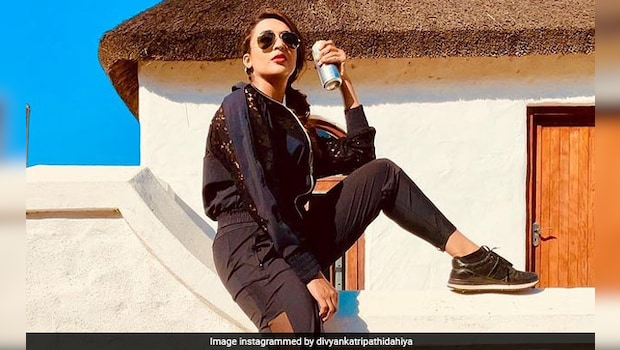 'My Favourite Activity,' Says Divyanka Tripathi; Take A Look At What The Actress Is Having