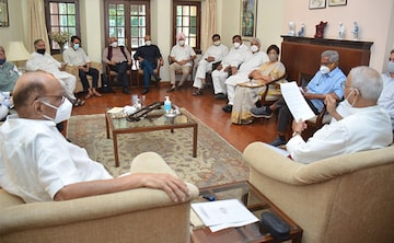 """""""Wasn't Political,"""" Says NCP After 8 Parties Meet At Sharad Pawar's House"""