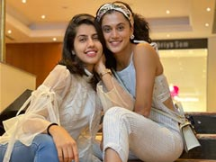 """Taapsee Pannu And Her Sister Shagun """"Begin June With High Spirit And Higher Hope"""""""