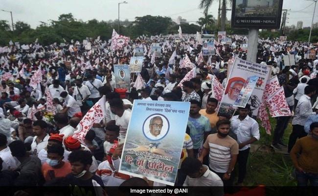 Protestors Demand Naming Of Navi Mumbai Airport After Activist D B Patil