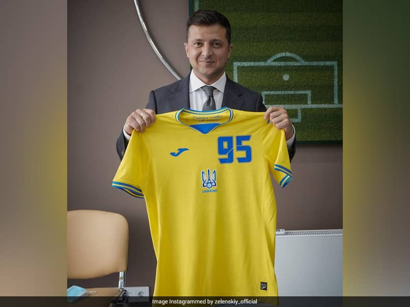UEFA demanded that Ukraine make changes to their jersey for Euro 2020 after protests from Russia, but Ukraine are in talks to reverse the decision.