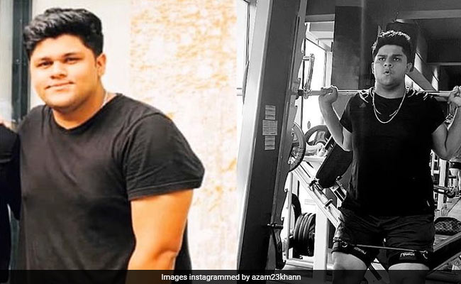 Moean khan son Azam Khan loses 30 kgs weight in 12 months to earn maiden Pakistan call-up