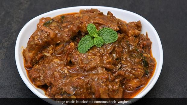 Kadai Chicken Kebab Curry